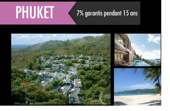 Investissement locatif Phuket