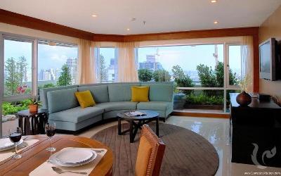 For rent 2-bedroom with big sky garden - Sukhumvit 13