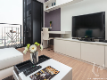 1 bdr Condominium for short-term rental in Bangkok - Saphan Taksin