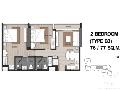 2 bdr Condominium for sale in Bangkok - Riverside