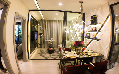 New Project ! High Rise, Luxury 1 Bedroom For Sale - MRT Rama 9