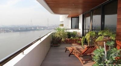 BA-C173-4bdr-1, 4 bdr Condominium Bangkok - Riverside