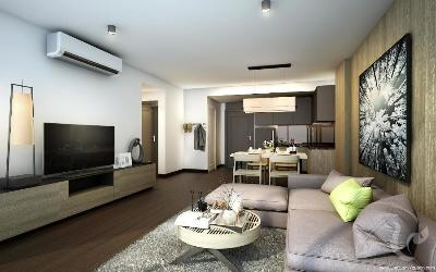 BA-C183-1bdr-9, New Project ! Beautiful duplex For Sale -BTS Surasak