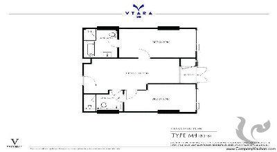 BA-C215-2bdr-1, 2 bdr Condominium Bangkok - Thonglo