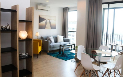 BA-C302-2bdr-5, Gorgeous 2 Bedrooms Condo For Rent / Sale - BTS Phayathai