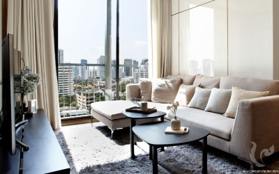 New Project !! Comfortable 2 Bedrooms Condo For Sale - BTS Phrom Phong