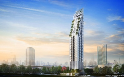 High Rise!! Freehold Luxury 3 Bedrooms For Sale - BTS Asoke, MRT Sukhumvit
