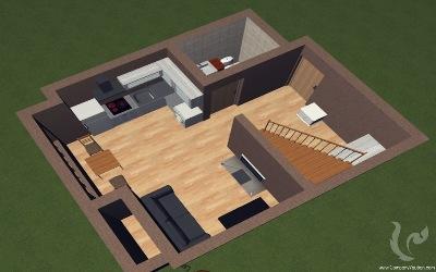 Duplex 1 bedroom with 2 bathroom Condo - Sathorn