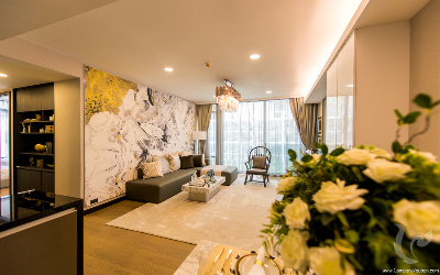 High Rise!! Luxury Penthouse For Sale - MRT Queen Sirikit