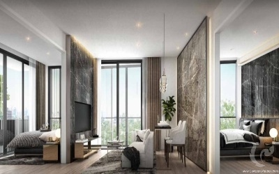 BA-C438-2bdr-1, Low Rise !!! Gorgeous 2 Bedrooms For Sale - BTS Phrom Phong