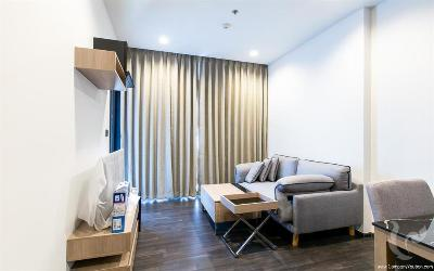 Modern 1 bedroom condo for Rent - MRT Rama9