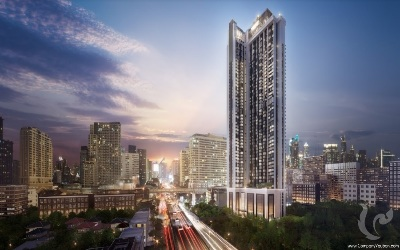 High Rise!! Freehold Luxury 1 Bedroom Condo For Sale- BTS Ratchathewi