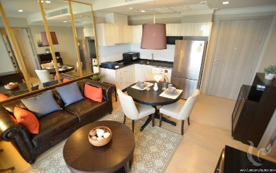 one-bedroom condominium - BTS Thonglor