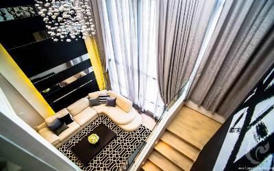 Brand New Duplex Penthouse 3 Bedrooms For Rent - BTS Krungthonburi
