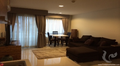 BKKSWA01-2bdr-1, 2 bdr Condominium Bangkok - Silom