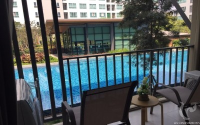 Nice condo   for rent  with swing pool view