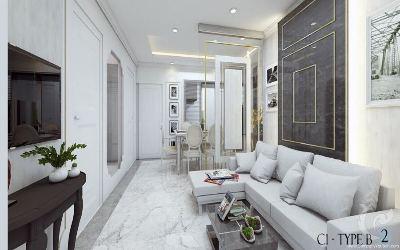 Bel appartement de 92 mètres carrés à vendre
