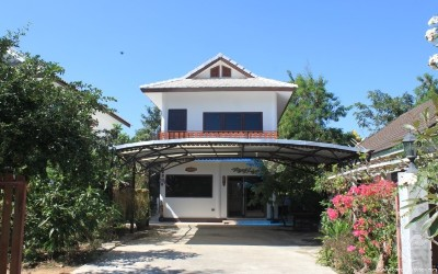 Cute and secured house for rent close to Dhara Dhevi
