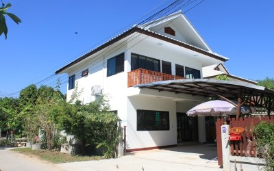 Newly built house for rent in a secured community close to Dhara Dhevi