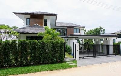 Maison moderne avec piscine privee