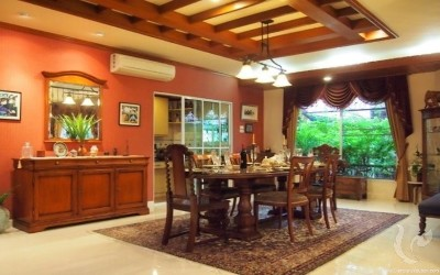 Beautiful house and land  of 1,360 sq.m. in Hang Dong for sale.