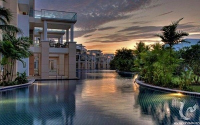 Luxury apartement 2 bed rooms pool-side villas