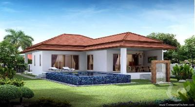 2-bedroom pool villas with fantastic panoramic view