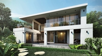 Luxury Pool villa 3 Bedrooms for an investment