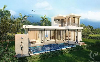 Huge villas in a splendid surrounder