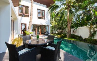 Villas dans une residence en bord de mer