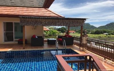 Villa 4 chambres avec vue magnifique !