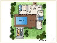 plan Villa type L
