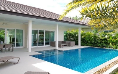 HU-V162-3bdr-1, 3 Bedrooms Pool Villa Near Hua Hin Center