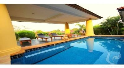 HU-V61-4bdr-1, Villa 4 bedrooms nice balinese style