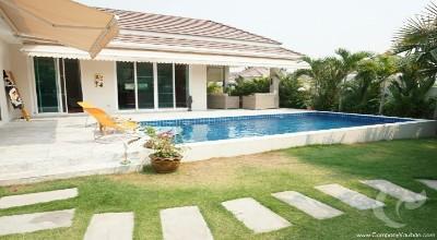 The amazing private pool villa