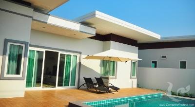 Villas modernes 2 chambres avec piscine privée(Class A)