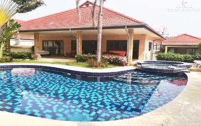 HU-V88-3bdr-4, Private luxury pool villa
