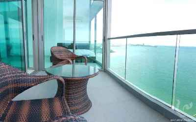 Condominiums with an amazing view in residential Wongamat