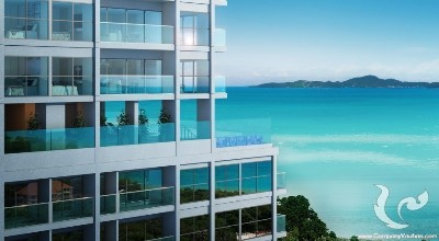 High end seaside condo with 20 years visa