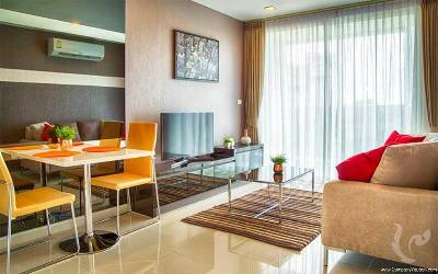 New 1 bedroom apartment bedroom in Pratumnak