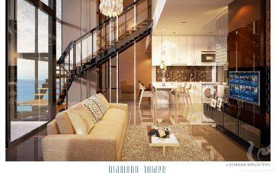 Amazing 2 bedrooms duplex in Pratumnak