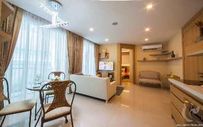 Luxury two-bedrooms apartment in the heart of Pattaya
