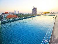 Swimming pool roof