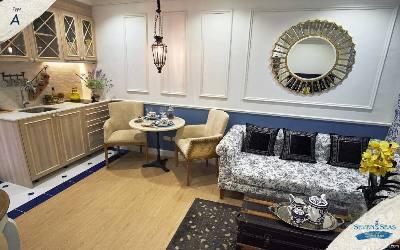 Appartement d'une chambre au design Méditerranéen soigné