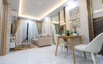 PA-C205-1bdr-2, Fully furnished one-bedroom apartment in a new project in Jomtien