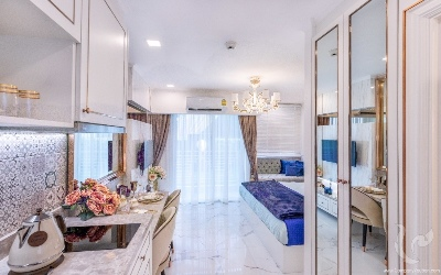 NEW: fully furnished studio in a new project in Jomtien!