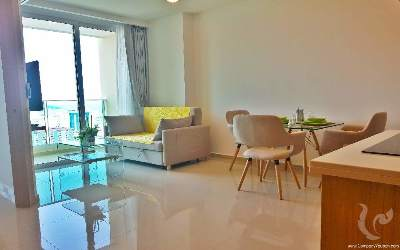 Superb apartment on the 22nd floor in the heart of Pattaya!