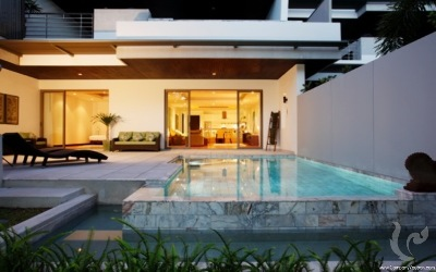 The luxury 3 bedrooms apartment with private pool in Bangtao