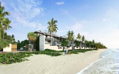 The Luxury Beachfront apartment  in Laguna