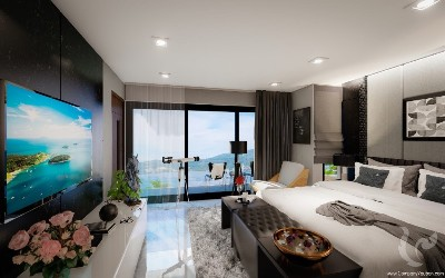 Fantastic studio of the best seaview in the Patong, Phuket